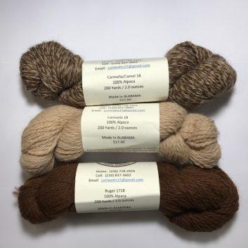 Bucksnort Alpaca Ranch Yarn