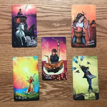 Coping with Social Distancing 5-card tarot reading