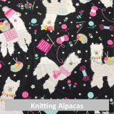 Knitting Alpacas