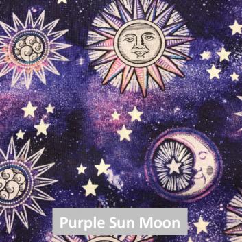 Purple Sun Moon