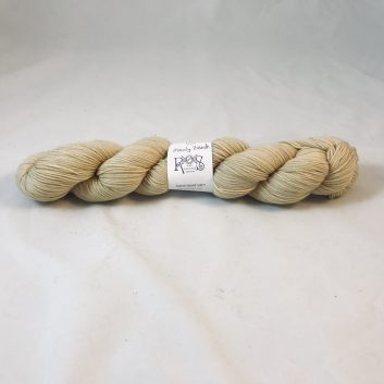 Fred Sock yarn, color Manly Beach, a sandy color