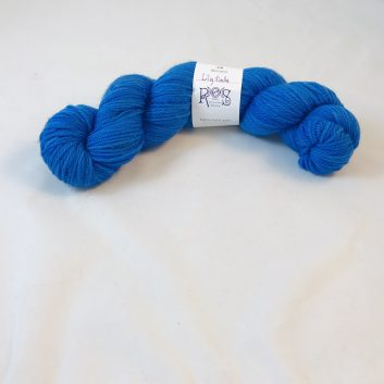 Jill Worsted in color Lily Dale (medium blue)