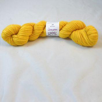 Jill Worsted in color Demonbreun (bright yellow)