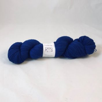 Amanda Lace yarn in color Lumberton, a dark blue