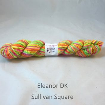 Eleanor DK yarn, color Sullivan Square