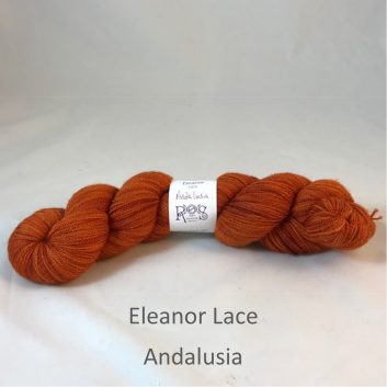Eleanor Lace yarn, color Andalusia