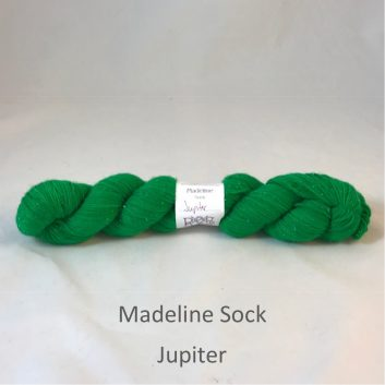 Madeline sock yarn, color Jupiter