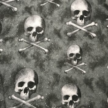 Skulls and Crossbones - sparkly