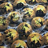 Spooky Balls in Spiderwebs