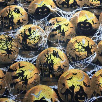 Spooky Balls in Spiderwebs