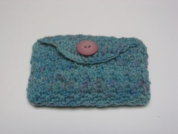 Crocheted Business Card Case
