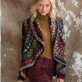 Crochet Jacket by Jenny King in Noro Taiyo yarn