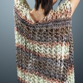 Summer Fun Ruana in EYB Aruba yarn
