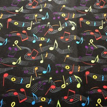 Rainbow Music Notes