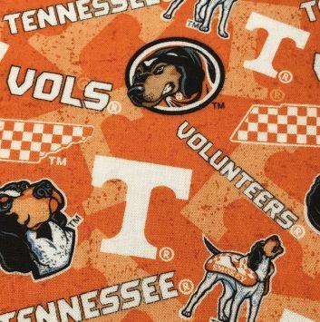 University of Tennessee fabric