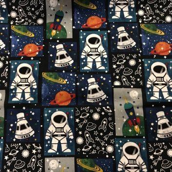 Spacesuit fabric