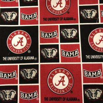 University of Alabama fabric