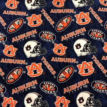 Auburn helmet fabric