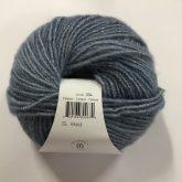 skein of tonal blue yarn
