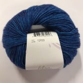 Ball of tonal dark blue yarn, Athens